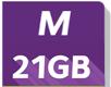 m 21GB